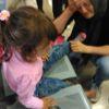 Ayağı Banka Sıkışan Küçük Kızı İtfaiye Kurtardı