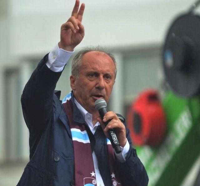 Muharrem İnce Trabzon'da Yağmur Altında Konuştu