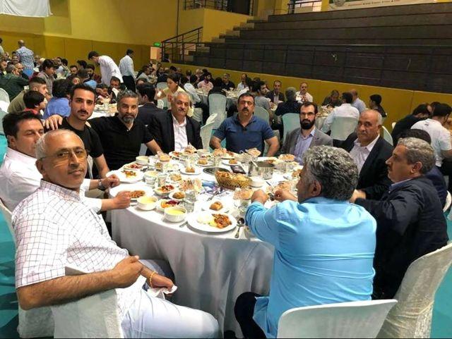 Gaziosmanpaşa'daki Malatyalılar İftar Yemeğinde Buluştu