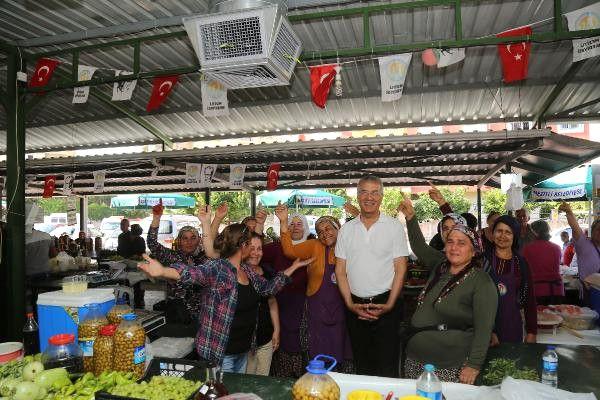 Kadın Üretici Pazarı'nda Güneş Enerjili Serinlik