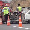 Kahramanmaraş Otomobil Takla Attı: 1 Polis Yaralı