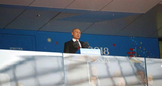 Dünya Kupası, Putin'in Konuşması ile Başladı