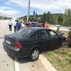 Çorum'da İki Otomobil Çarpıştı: 9 Yaralı