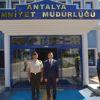 Emniyet Müdürü Ulucan'a Ziyaret