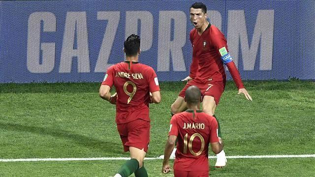 İspanya, Ronaldo'yu Deviremedi