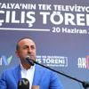 Dışişleri Bakanı Çavuşoğlu, Antalya'da