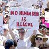 Beyaz Saray'ın Önünde Toplanan Binlerce Kişi Trump'ın Göçmen Politikasını Protesto Etti