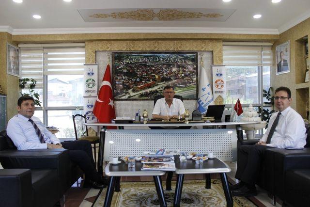 Başkan Duymuş'a Ziyaretler Devam Ediyor