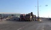 Suriye'nin Münbiç ve Tel Rıfat Sınırına Askeri Sevkıyat