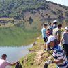 Devlethan Barajında Çevre Temizliği Yapıldı