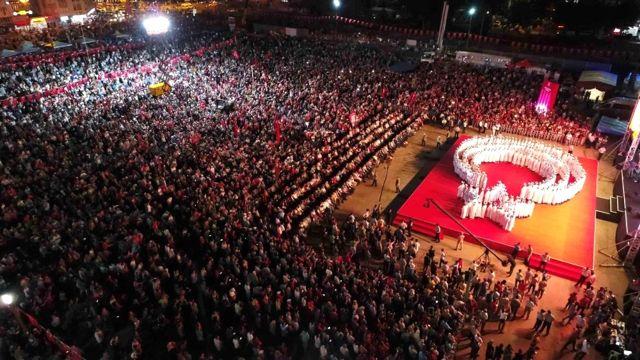 Kocaeli'de 15 Temmuz Nöbetleri İçin Dev Tören