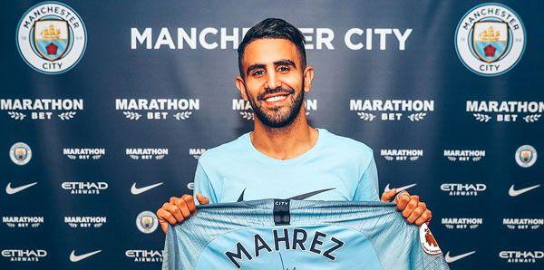 Riyad Mahrez, Manchester City'de!