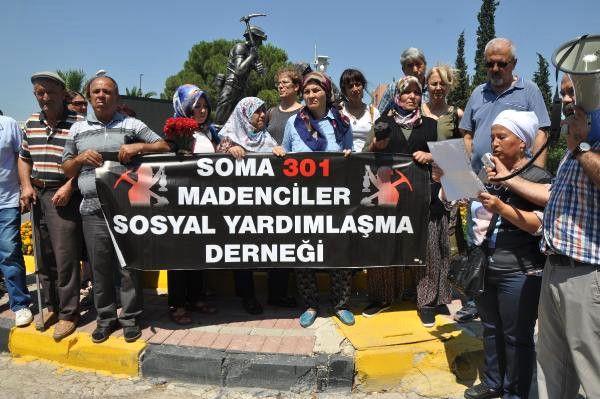 Madenci Aileleri, 'Adalet Buluşması' İçin Soma'dan Yola Çıktı