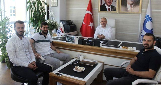 AK Parti Sancaktepe İlçe Gençlik Kollarından Özulaş Başkanı'na Hayırlı Olsun Ziyareti