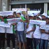Gazze'deki Çocuklardan İsrail Karşıtı Gösteri