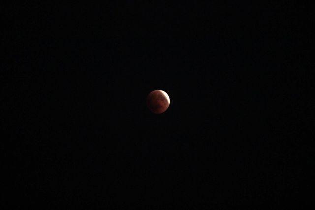 Kanlı Ay Büyüledi