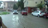 Tekirdağ'da Şiddetli Yağmur Sokakları Göle Çevirdi