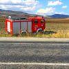 Yangına Giden İtfaiye Aracı Otomobille Çarpıştı: 1 Yaralı