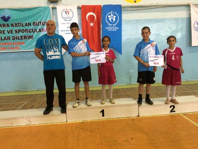 Ağrı'da 15 Yaş Altı Türkiye Ranking Müsabakaları