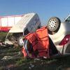 Edirne Kamyonet, Otomobille Çarpıştı 3 Ölü, 1 Yaralı