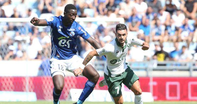 Lionel Carole'un Takımı Strasbourg, St. Etienne ile 1-1 Berabere Kaldı