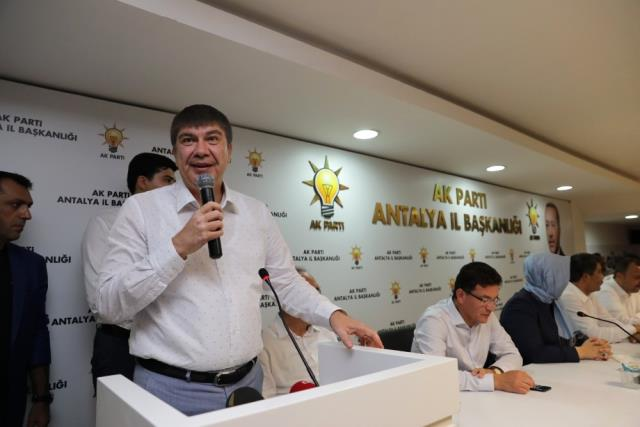 Antalya Büyükşehir Belediye Başkanı Menderes Türel Açıklaması