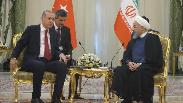 Erdoğan ve Ruhani Görüşmesi Tamamlandı