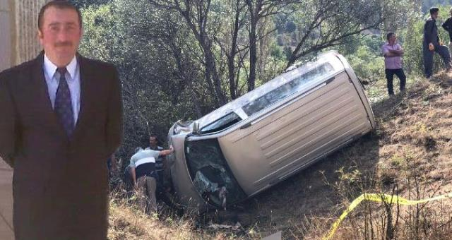 MHP Giresun İlçe Başkanı Trafik Kazasında Hayatını Kaybetti