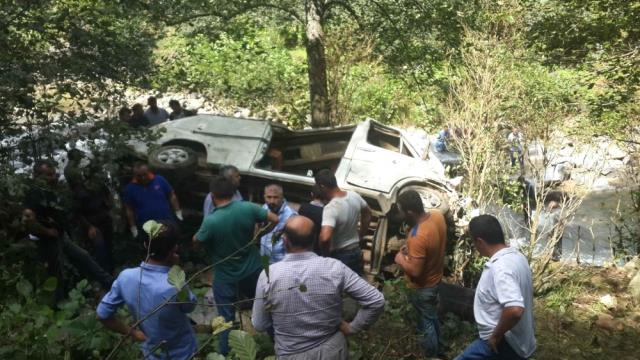 Giresun'daki Kazada Ölü ve Yaralıların Kimlikleri Belirlendi