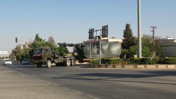 Suriye Sınırına Askeri Sevkiyat Sürüyor (2)