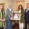 Başkan Yılmaz, Kadem'i Ziyaret Etti