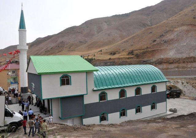 Diyanet İşleri Başkanı Bitlis'te Cami Açılışına Katıldı