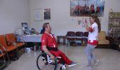 Tekerlekli Sandalyede Harmandalı