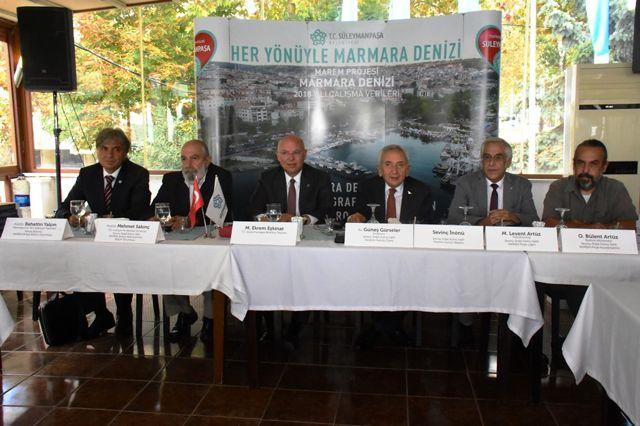 Marmara Denizi'nin Geleceği Süleymanpaşa'da Masaya Yatırıldı