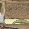 TSK Tarafından Öldürülen, PKK'nın Sözde Sorumlusunun Fotoğrafı Sincar Dağına Asıldı