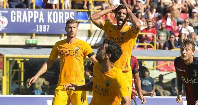 Cengiz Ünder'li Roma, Deplasmanda Bologna'ya 2-0 Yenildi