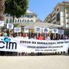Cinsel İstismardan Tutuksuz Yargılamaya Protesto