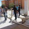Silvan'da Belediyeden Öğrencilere Spor Malzemesi Desteği