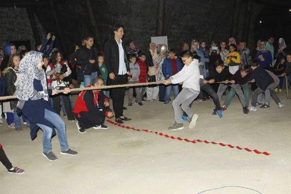 Merkez Haberleri: Çocuklar, yerin 150 metre altında oyun oynadı