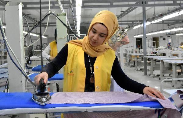 Van'a 7 Milyon Lira Yatırımla Gömlek Fabrikası Açıldı