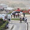 Hava Ambulansı Toz Bulutuna Rağmen Hasta İçin Havalandı