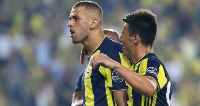 Milli Takımda Sakatlanan Fenerbahçeli Slimani'nin Durumu Ciddi Değil