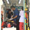 Ambulans Helikopter Yaşlı Kadın İçin Havalandı