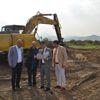 Bafra Medikal Osb'nin Altyapı İnşaatı Başladı