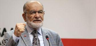 Saadet Partisi Lideri Temel Karamollaoğlu ndan  Öğrenci ...