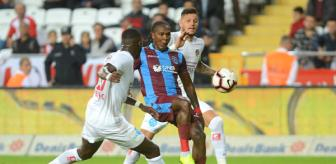 Erdinç Sezertam: Antalyaspor - Trabzonspor : 1-1