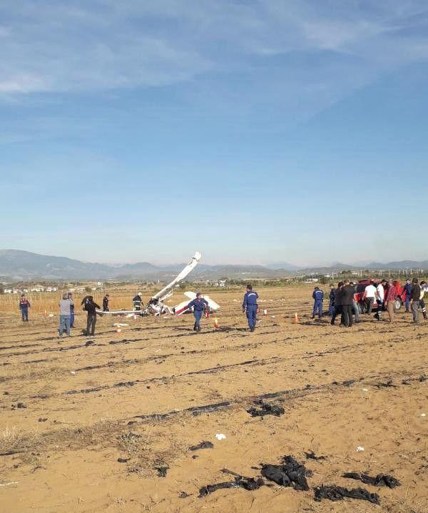 Antalya'da Eğitim Uçağı Düştü: 2 Ölü (2) - Yeniden