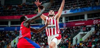 CSKA Moskova, Olympiakos'u Devirdi: 69-65