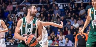 Euroleague'de Buducnost, Panathinaikos'a Kaybetti: 72-67