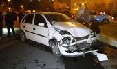 Otomobilin Çarptığı Cip Takla Attı: 2 Yaralı